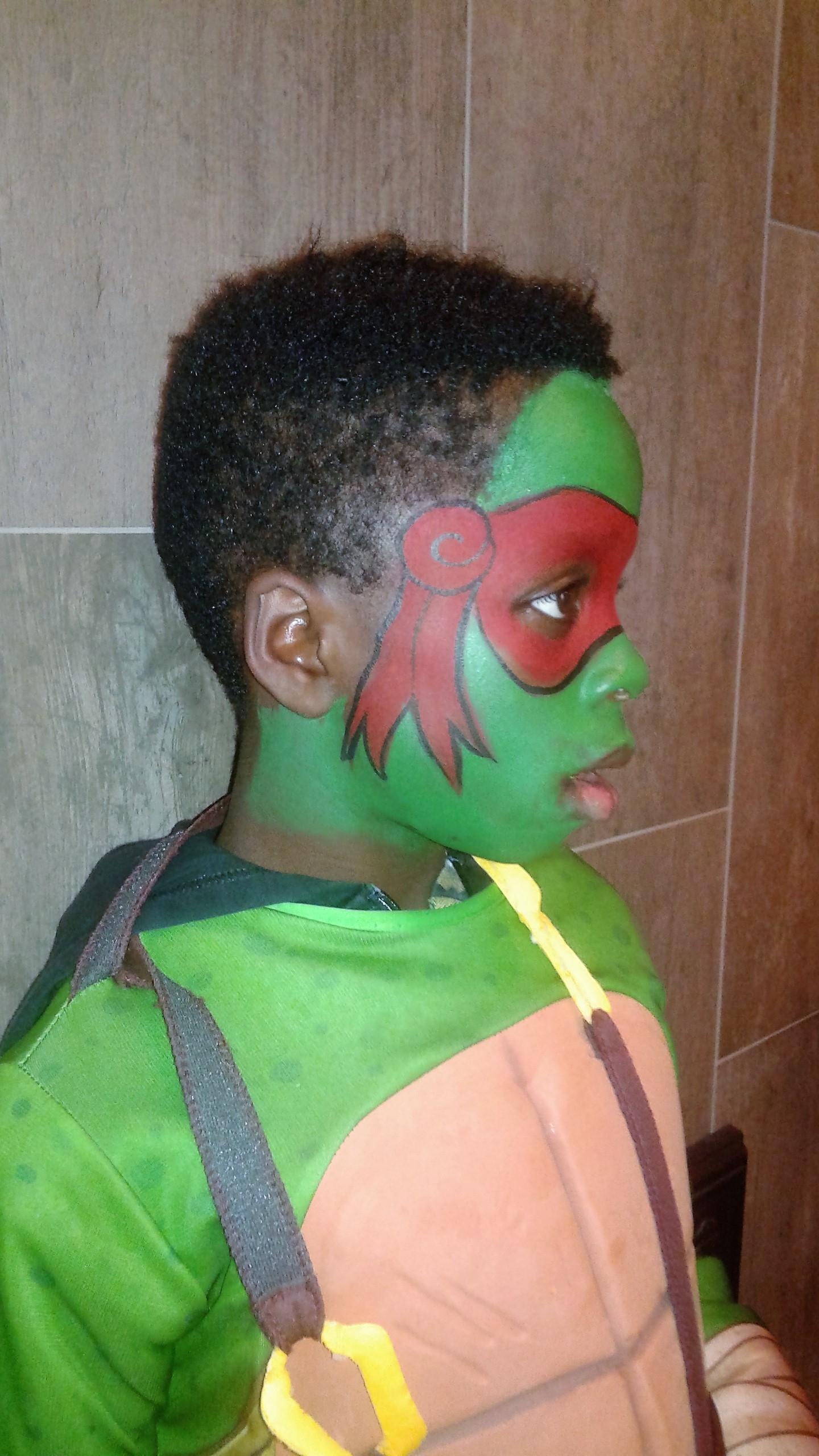 Ninja-Turtle-Facepainting