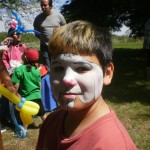 Face Painted Boy